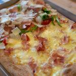 ricetta Pizza in Teglia alla Romana