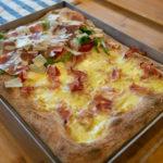 Pizza in Teglia alla Romana